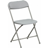 Gray Plastic Folding Chair, WHOLESALE PRICES FOLDING CHAIRS