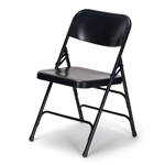 Discount Black Metal Folding Chair