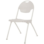 Mity-Lite Stack Chair White