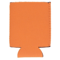 Neoprene Beverage Wrap, Orange