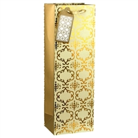 Glam Wine Bag, Cream