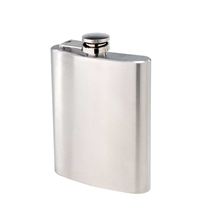 Flask, 6 oz Stainless Steel