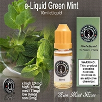 10ml Green Mint Double Mint Flavor e Liquid Juice