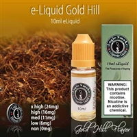 10ml Gold Hill Flavor e Liquid Juice