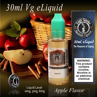 30ml VG Vape Juice Apple Flavor