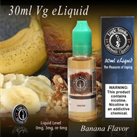 30ml VG Vape Juice Banana Flavor