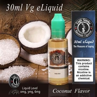 30ml VG Vape Juice Coconut Flavor