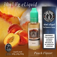 30ml VG Vape Juice Peach Flavor