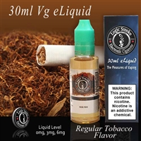 30ml VG Vape Juice Regular Tobacco Flavor