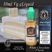 30ml VG Vape Juice White Chocolate Flavor