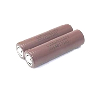 Flat Top 18650 3000mah Battery LG INR HG2