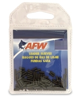 AFW SINGLE BARREL BLACK LEADER SLEEVES- 50 PACK