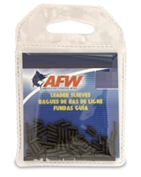 AFW SINGLE BARREL BLACK LEADER SLEEVES- 100 PACK