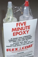 FLEX COAT 4 OZ. FIVE MINUTE EPOXY GLUE KIT #Q4