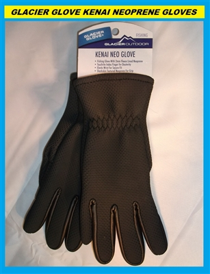 Glacier Glove Kenai Neoprene Gloves #015BK