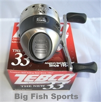 ZEBCO 33 SPINCAST REEL 3.6:1 GEAR RATIO #33K