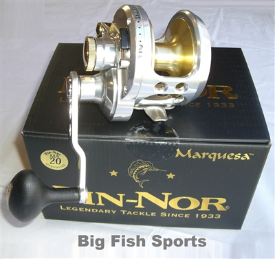 FIN-NOR MARQUESA LEVER DRAG CONVENTIONAL REEL #MA20
