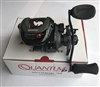 QUANTUM SMOKE PT SERIES 3 BAITCAST REEL- 8.1:1 GEAR RATIO #SM101XPT LEFT HAND