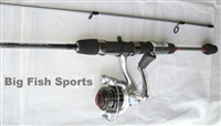 QUANTUM XTRALITE 6' SPINNING ROD AND REEL COMBO #XTS05602UL