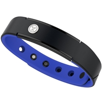 ProExl 15K Energy Sports Magnetic Bracelet Fully Adjustable Black Azul Blue