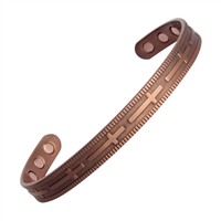 Cross Copper Magnetic Bracelet