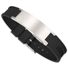 ProExl Brushed Silver Magnetic Energy Golf Bracelet