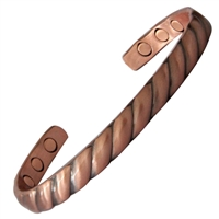 Etna Copper Magnetic Bracelet