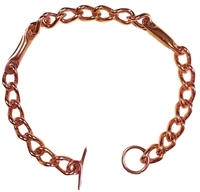 Womens Chain Copper Magnetic Bracelet