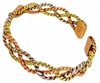 Womens Delia Small Copper Magnetic Bracelet