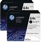 Genuine HP P4015, P4510, P4515 High Yield Dual-Pack Toner Cartridge CC364X