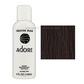 Adore Shining Semi-Permanent Hair Color 109 Dark Chocolate