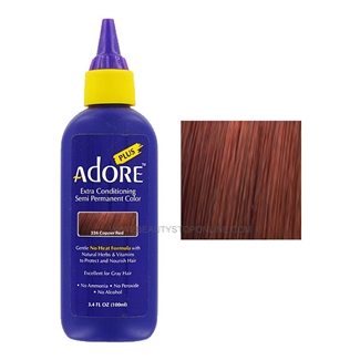 Adore Plus Semi-Permanent Hair Color 336 Copper Red