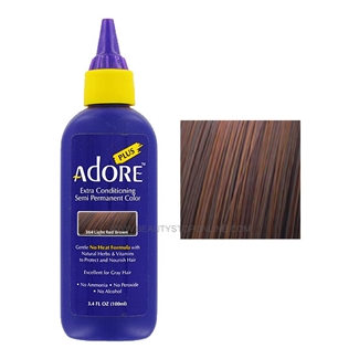 Adore Plus Semi-Permanent Hair Color 364 Light Red Brown