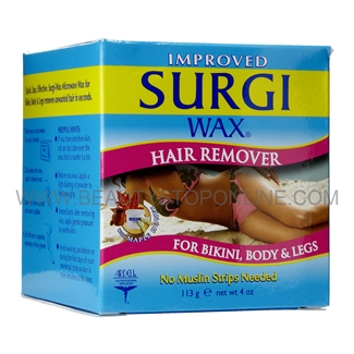 Surgi-Wax Microwave Hair Remover for Bikini, Body & Legs 82503