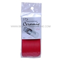Spornette Battalia CR-7 Ceramic Thermal Rollers Red 68mm 2pk