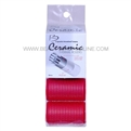 Spornette Battalia CR-3 Ceramic Thermal Rollers Red 36mm 4pk
