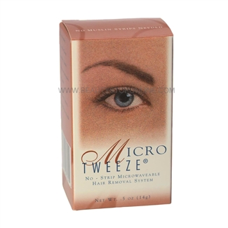 Micro Tweeze No-Strip Microwaveable Hair Removal System - 0.5 oz