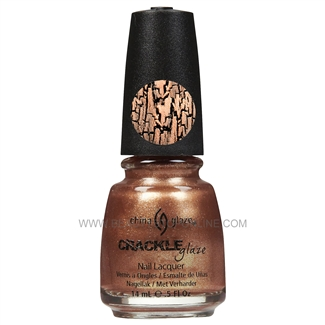 China Glaze Crackle Metals Nail Polish - Cracked Medallion 80762