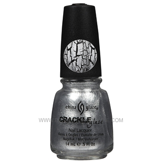 China Glaze Crackle Metals Nail Polish - Platinum Pieces 80763