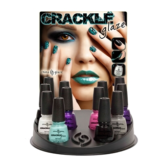 China Glaze Crackle Nail Polish - 12 Piece Counter Display