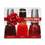 China Glaze Holiday Prepack - Merry Mint