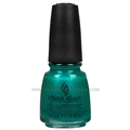 China Glaze Nail Polish - Turned Up Turquoise 70345