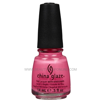 China Glaze Nail Polish - Shocking Pink 70293