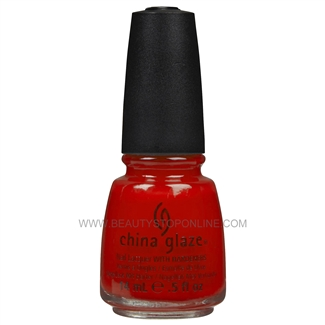 China Glaze Nail Polish - Aztec Orange 70529