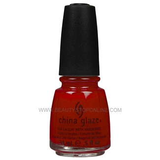 China Glaze Nail Polish - Vermillion 70333