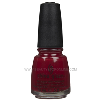 China Glaze Nail Polish - Masai Red 70332