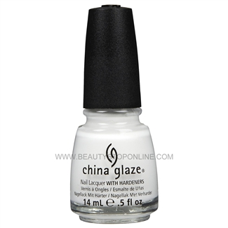 China Glaze Nail Polish - White Out 70276
