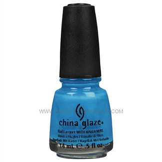 China Glaze Nail Polish - Aqua Baby 70281