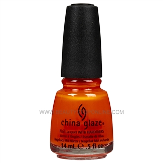 China Glaze Nail Polish - Orange Knockout 70641
