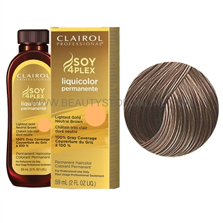 Clairol LiquiColor Permanente 6GN/25G Dark Gold Neutral Blonde